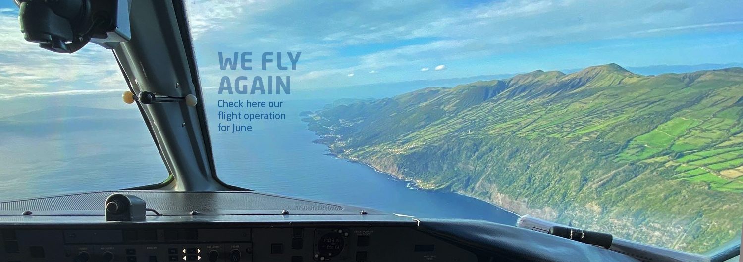We fly again! Check here our flight operation for june
