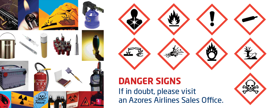 Prohibited Articles - Danger Signs